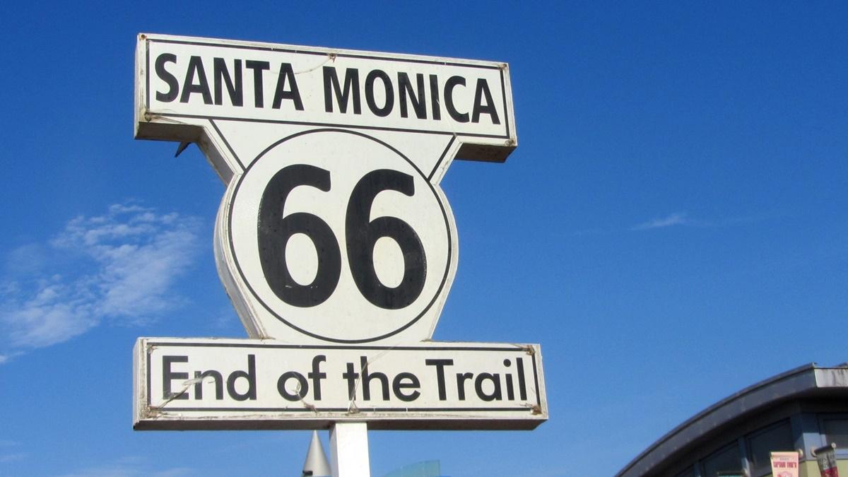 Konec Route 66 v Santa Monice | © Pixabay.com
