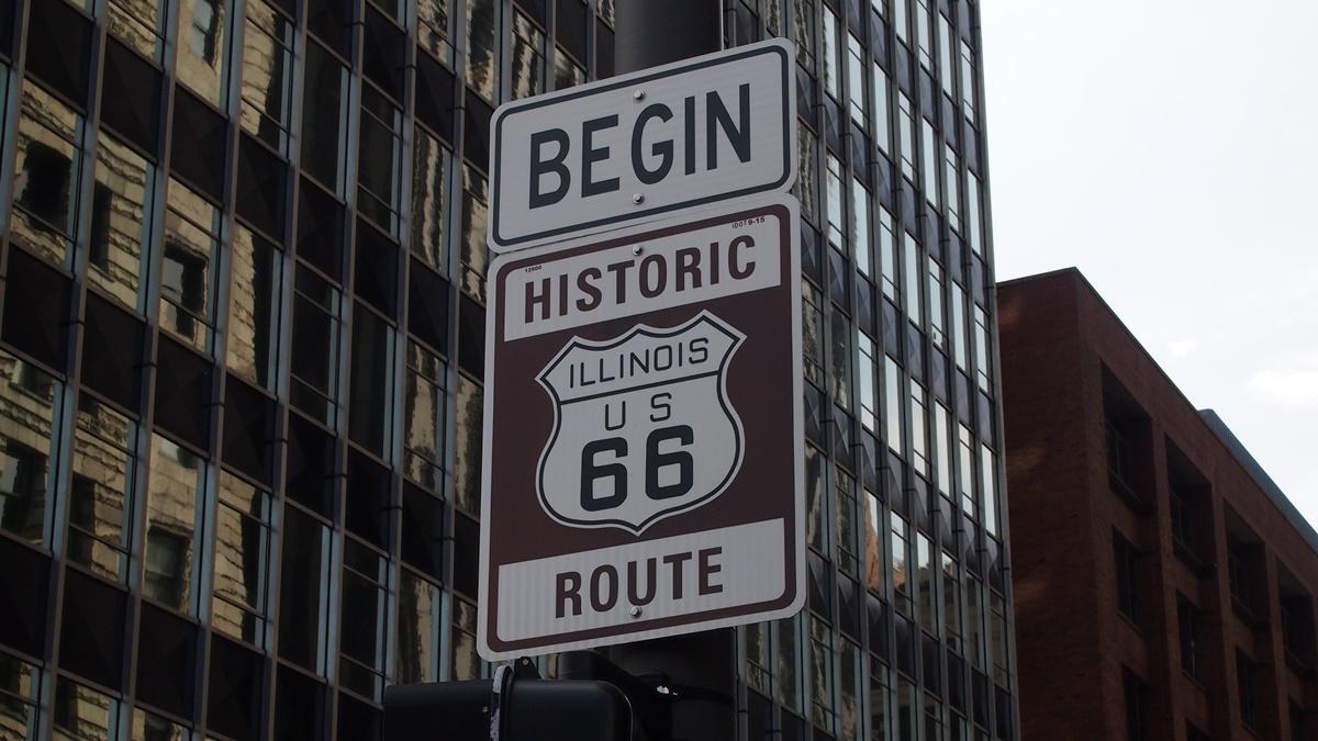 Začátek Route 66 v Chicagu | © Pixabay.com
