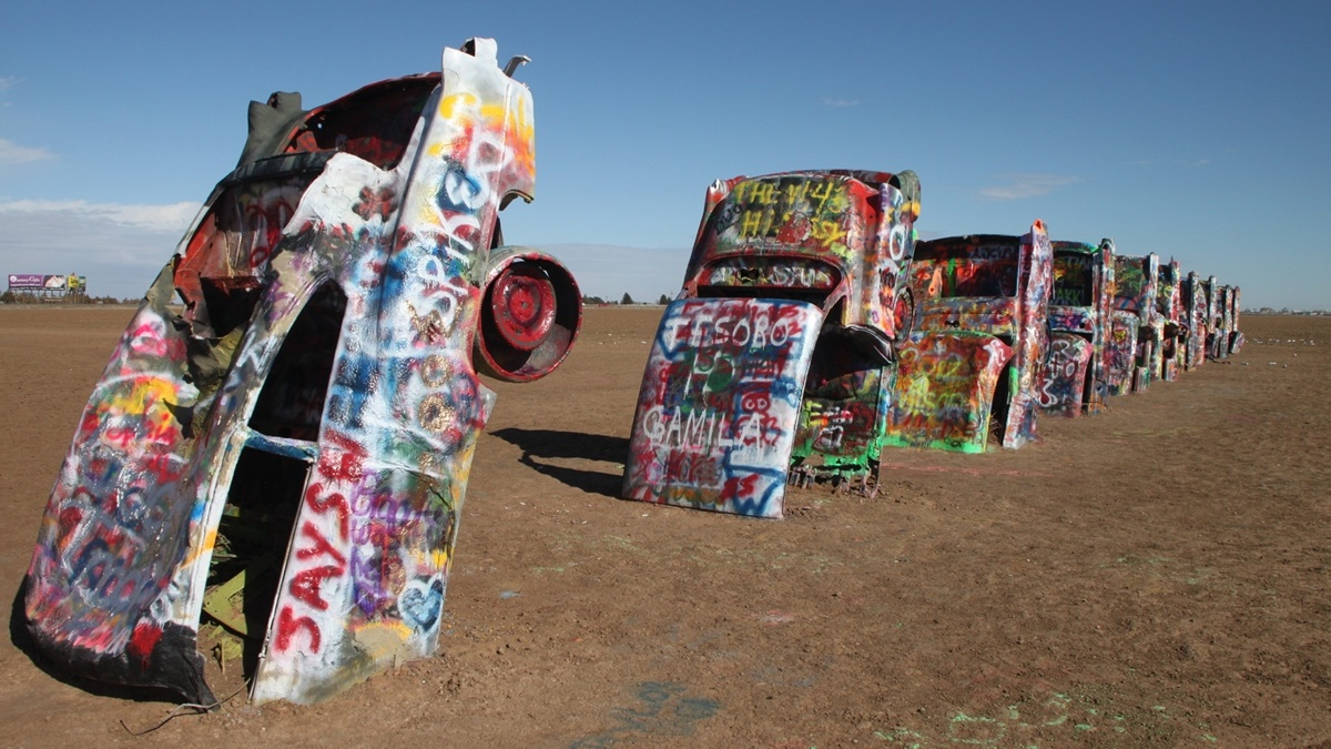 Cadillac Ranch | © Alan Levine