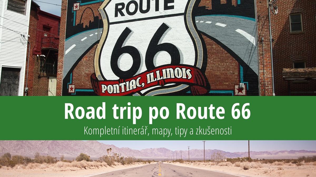 Road Trip po Route 66: Itinerář, mapy, atrakce a zkušenosti | © pixabay.com