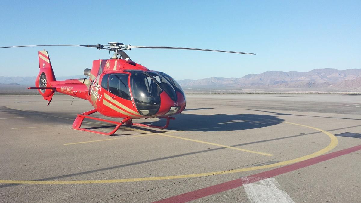 Vyhlídkový let vrtulníkem nad Grand Canyonem | © Petr Novák