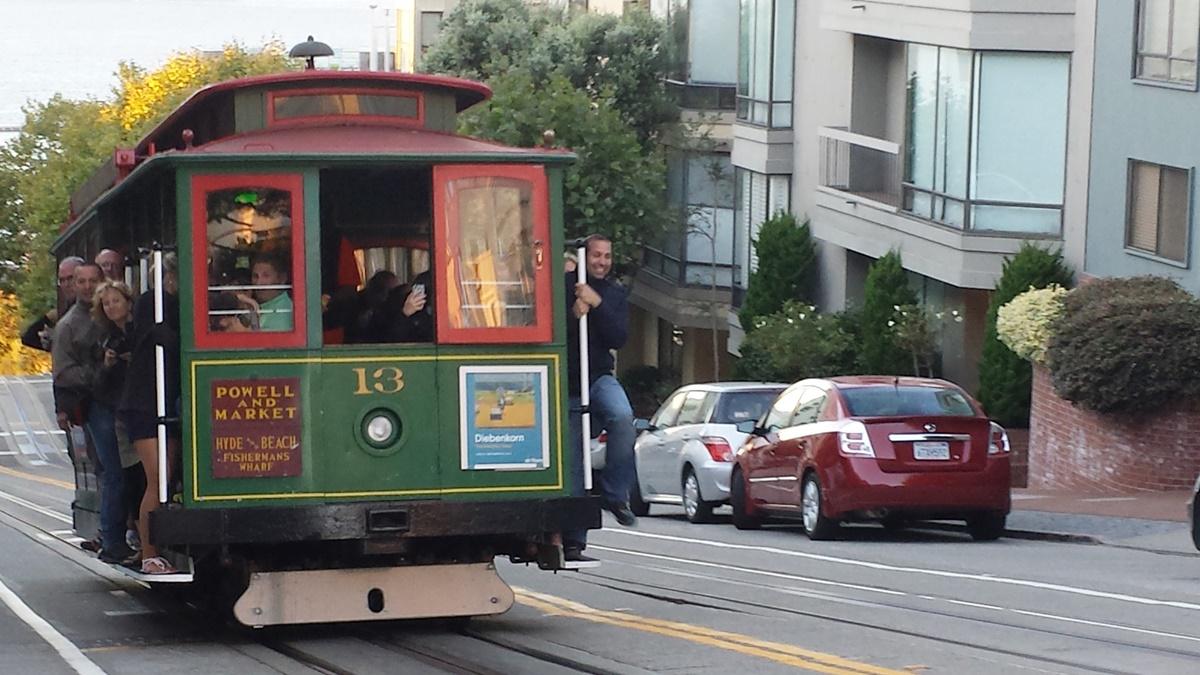Tramvaj v San Franciscu | © Petr Novák