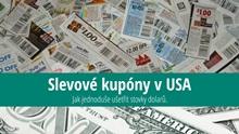 Slevové kódy, kupony aknížky do USA: Návod jak ušetřit stovky dolarů