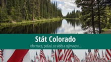 Stát Colorado: Mapa, památky, města azajímavosti