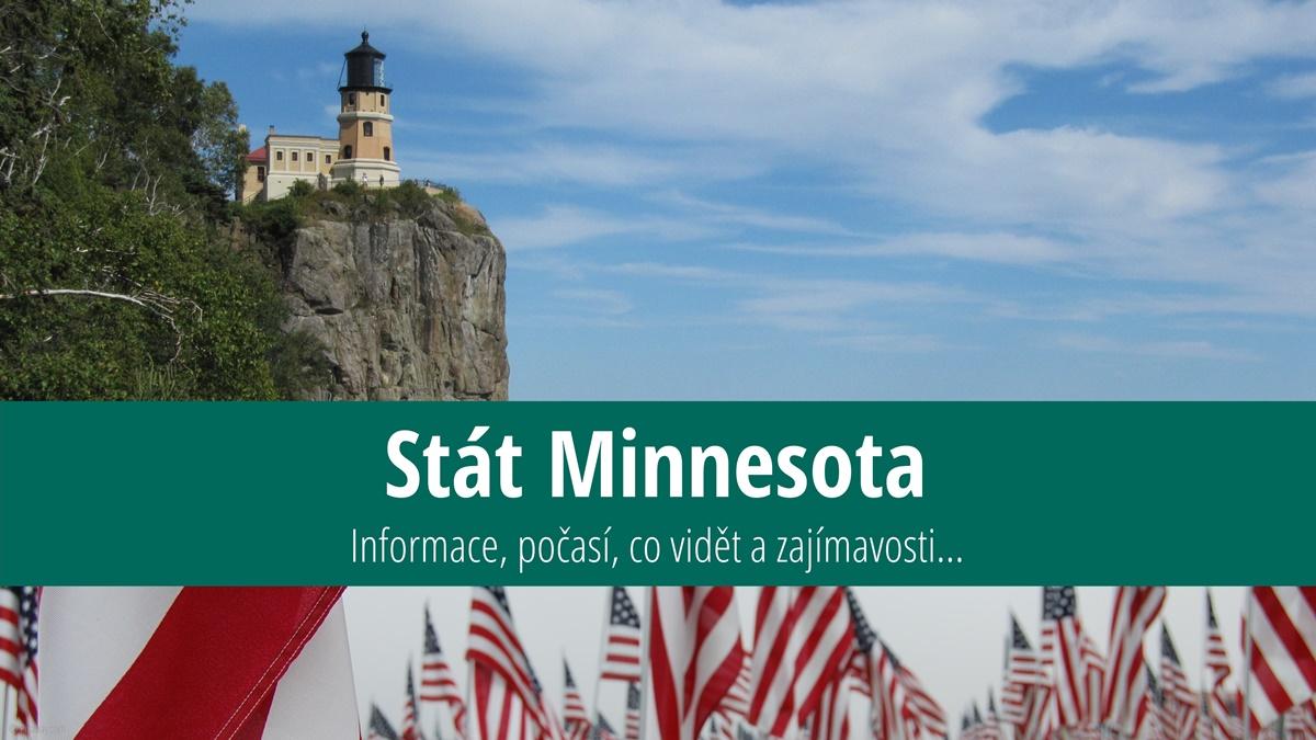 Stát Minnesota: Mapa, památky, města azajímavosti