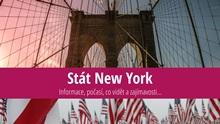 Stát New York: Mapa, památky, města azajímavosti