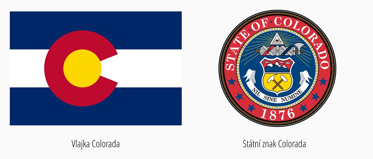 Vlajka Colorada | Státní znak Colorado