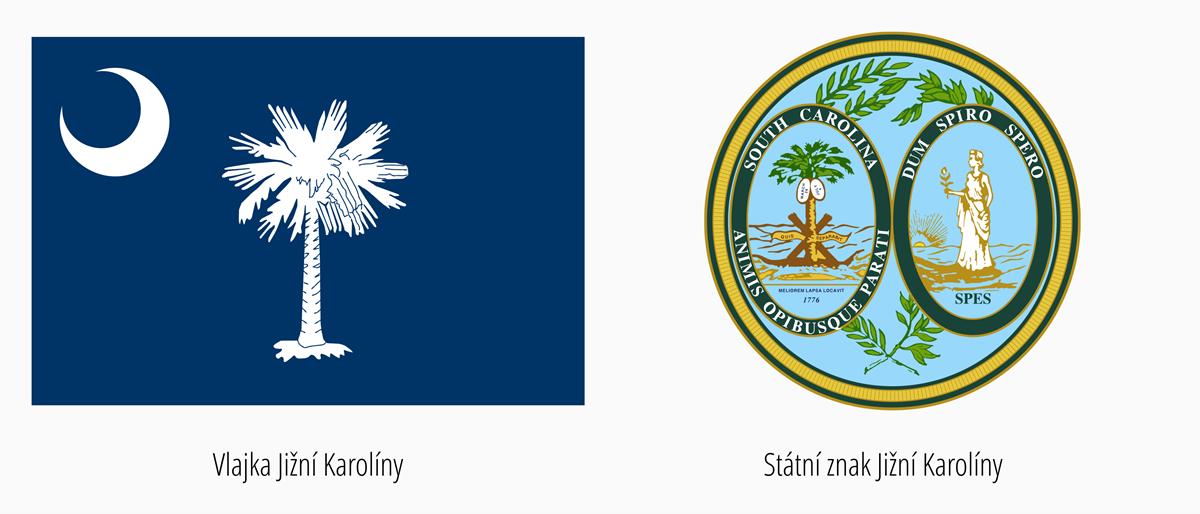 Vlajka Jižní Karolína | Státní znak Jižní Karolína