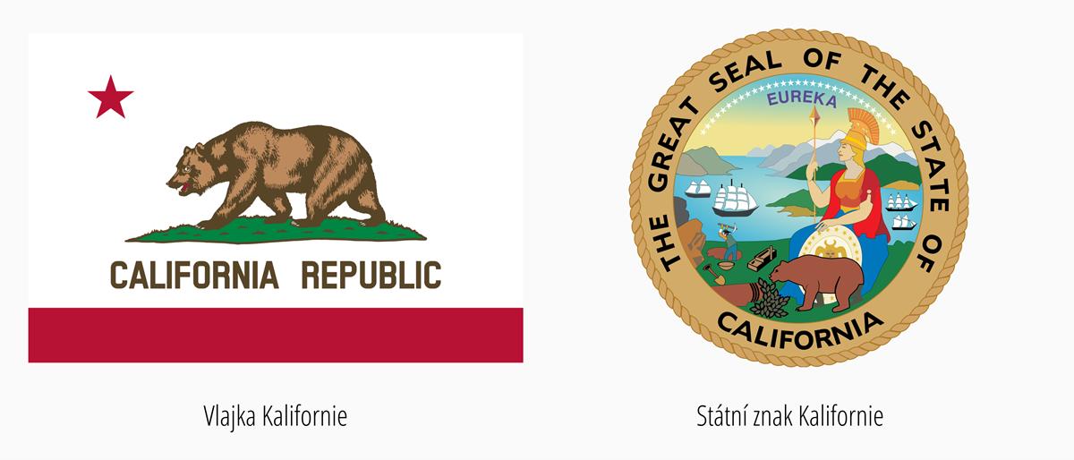 Vlajka Kalifornie | Státní znak Kalifornie