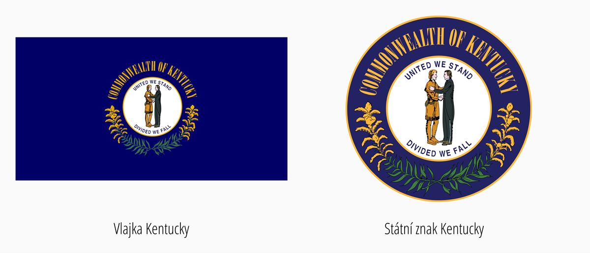 Vlajka Kentucky | Státní znak Kentucky