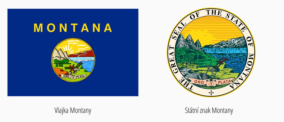 Vlajka Montana | Státní znak Montana
