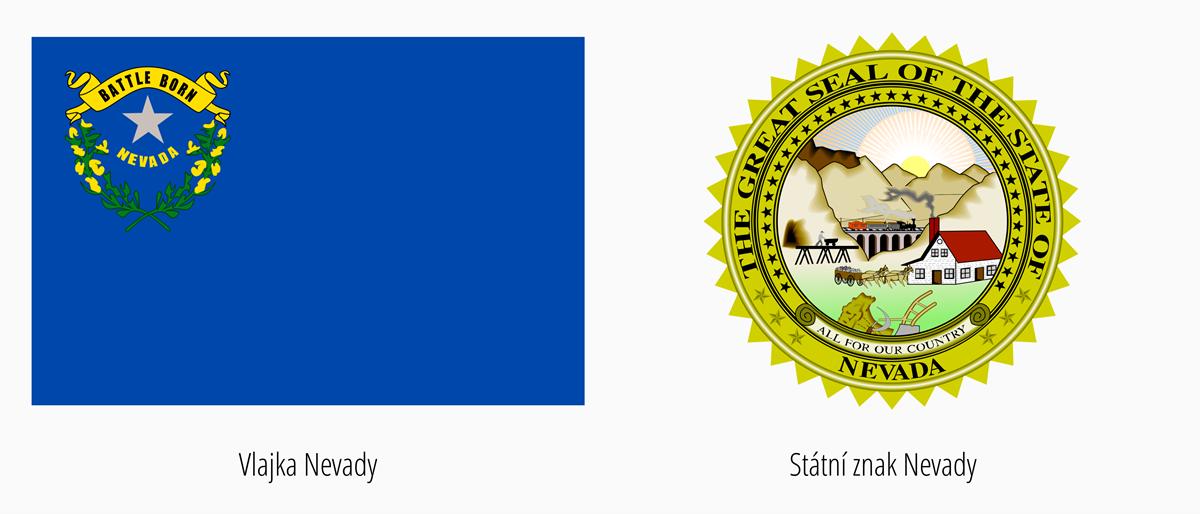 Vlajka Nevada | Státní znak Nevada