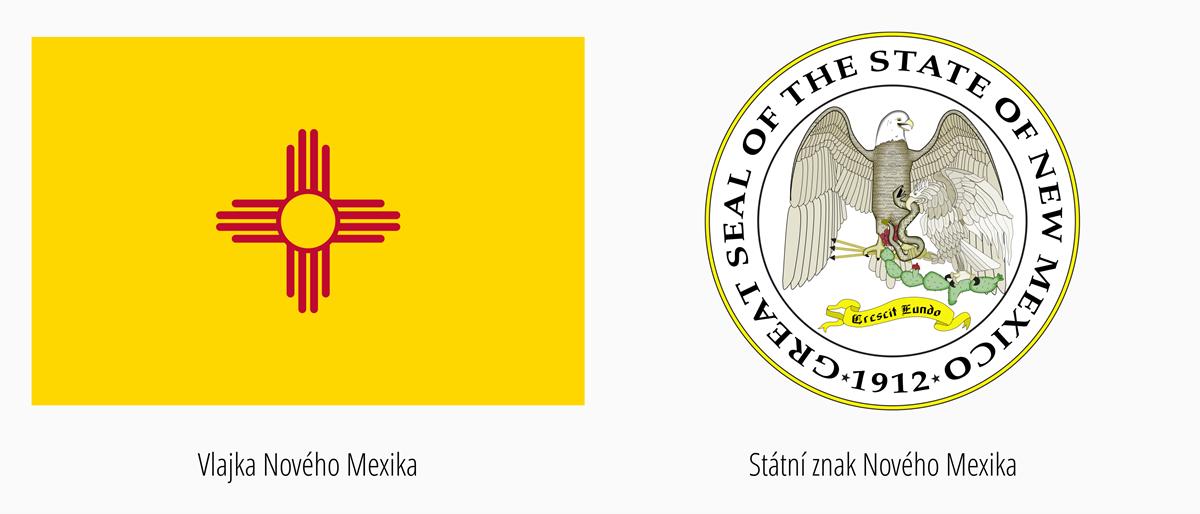 Vlajka Nové Mexiko | Státní znak Nové Mexiko