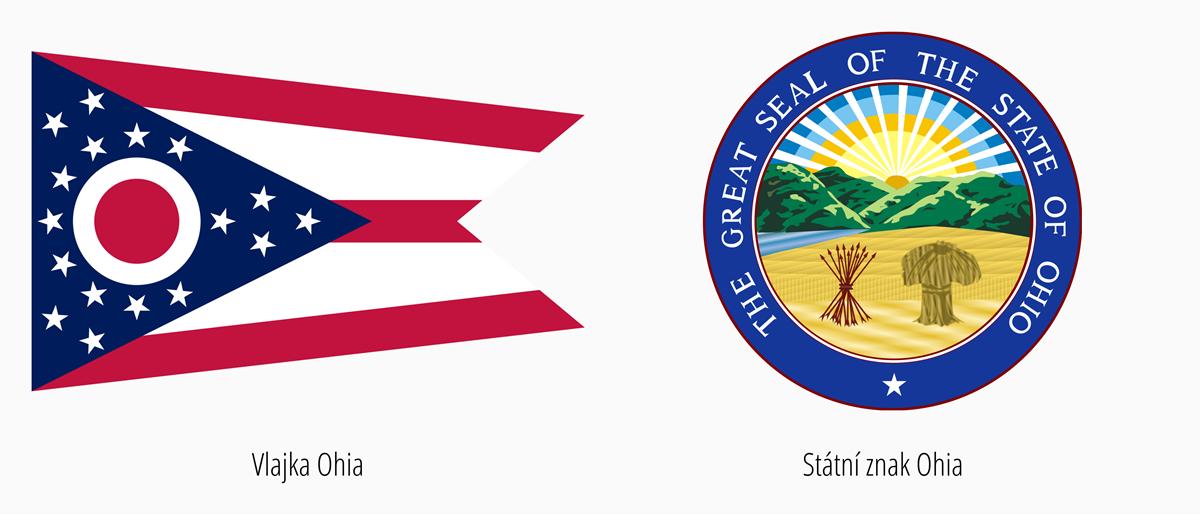 Vlajka Ohio | Státní znak Ohio