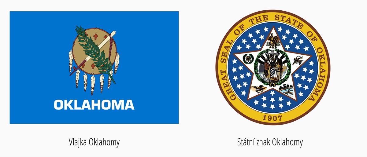 Vlajka Oklahoma | Státní znak Oklahoma