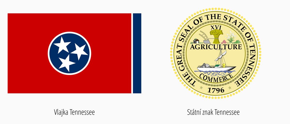 Vlajka Tennessee | Státní znak Tennessee