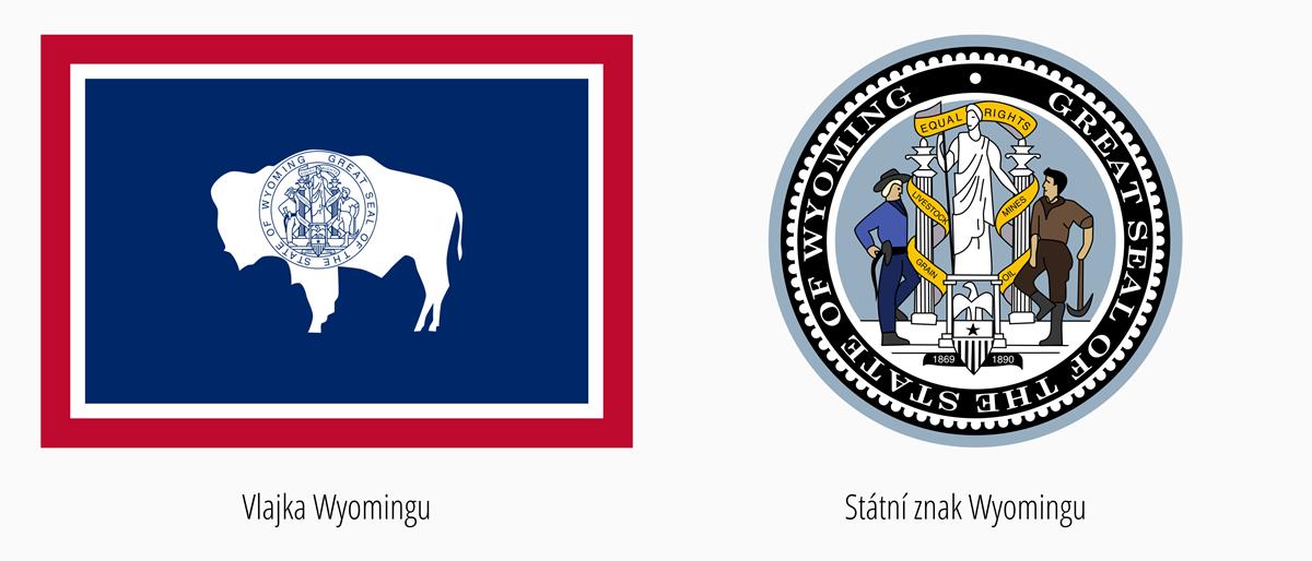 Vlajka Wyoming | Státní znak Wyoming