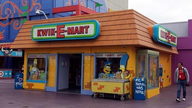 Kwik-E-Mart ze Simpsonovych | © Petr Novák