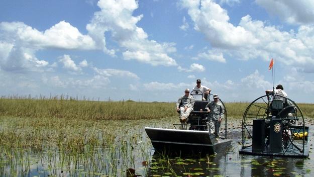 Toužíte po dobrodružství? Projeďte se v Hummerech po národním parku Everglades! | © JaxStrong