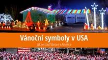 Tradiční symboly amerických Vánoc