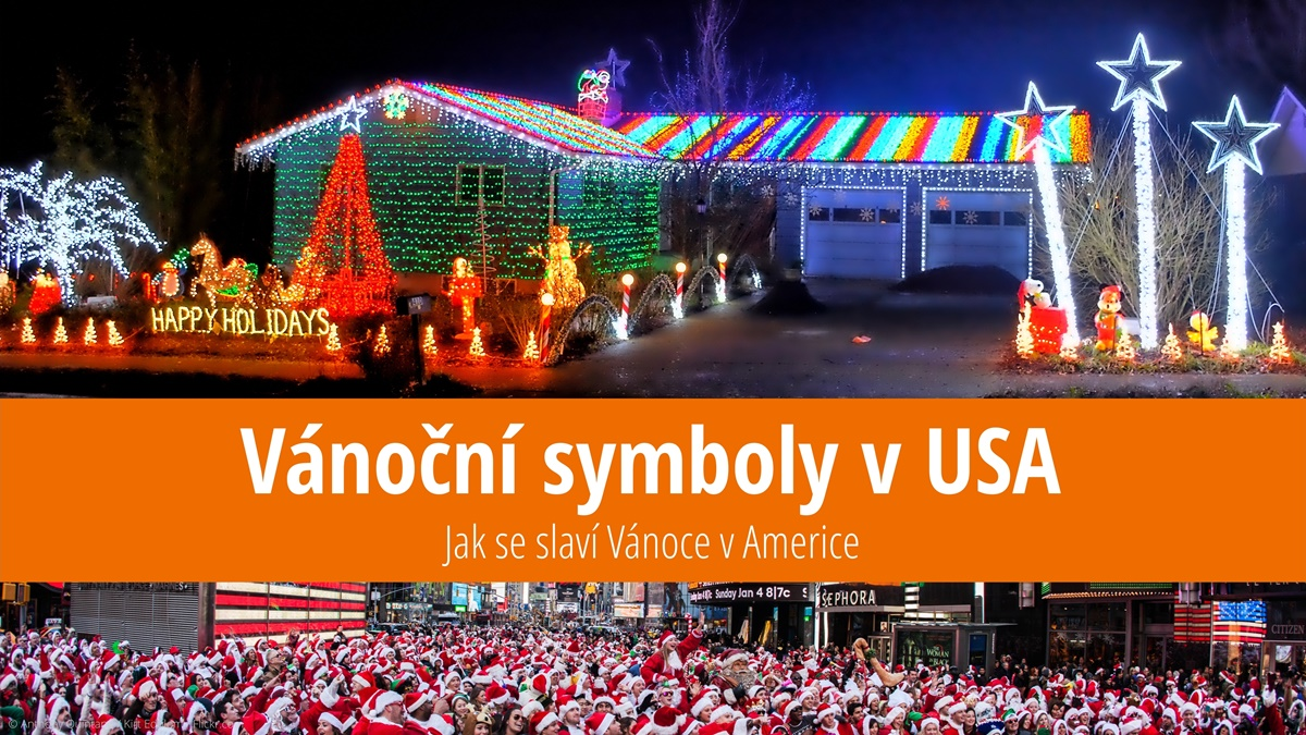Tradiční symboly amerických Vánoc | © Anthony Quintano / Kirt Edblom / Flickr.com