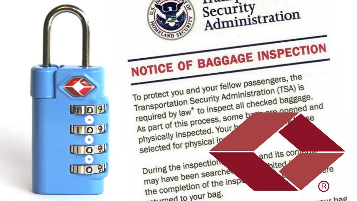 TSA zámek na kufr do USA | © Baggage Master