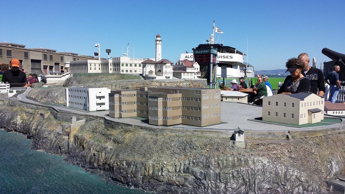 Model Alcatrazu | © Petr Novák