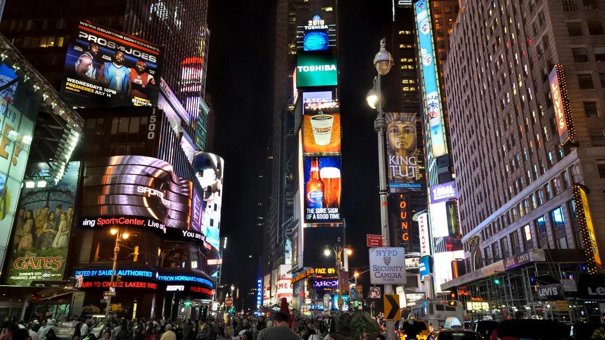 Nový rok na Times Square | © Greg Knapp