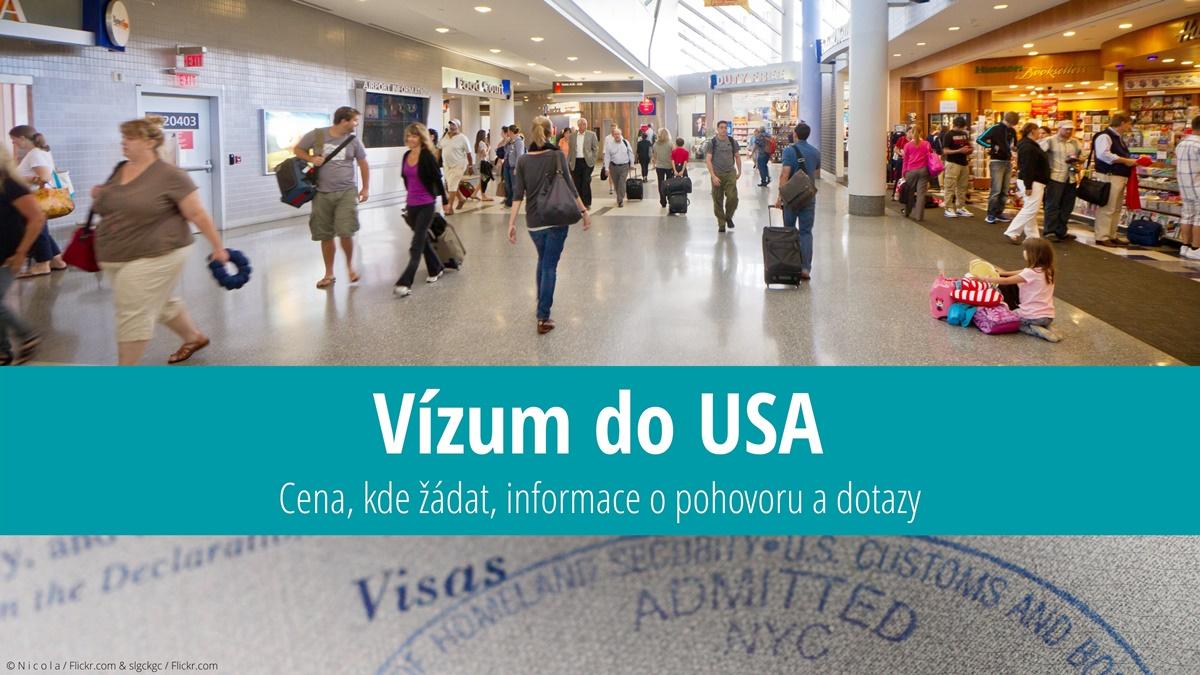Žádost o vízum do USA | © N i c o l a / Flickr.com & slgckgc / Flickr.com