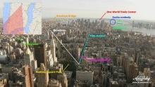 Výhled zmrakodrapu Empire State Building na New York