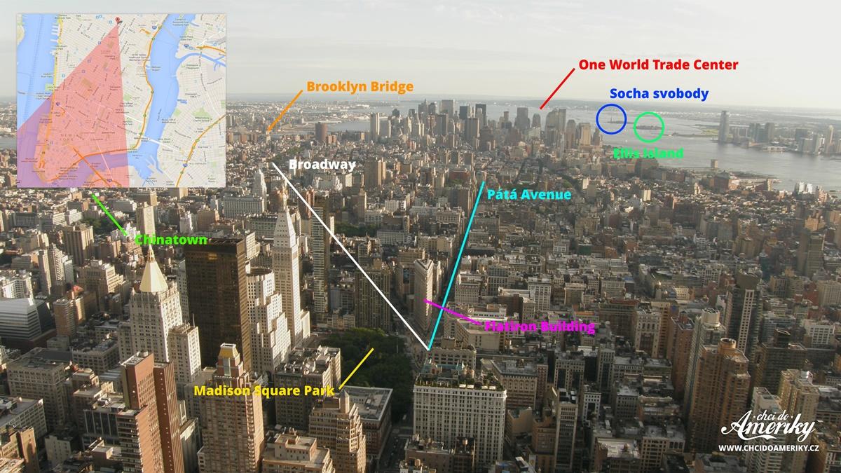 Výhled z Empire State Building | © Petr Novák