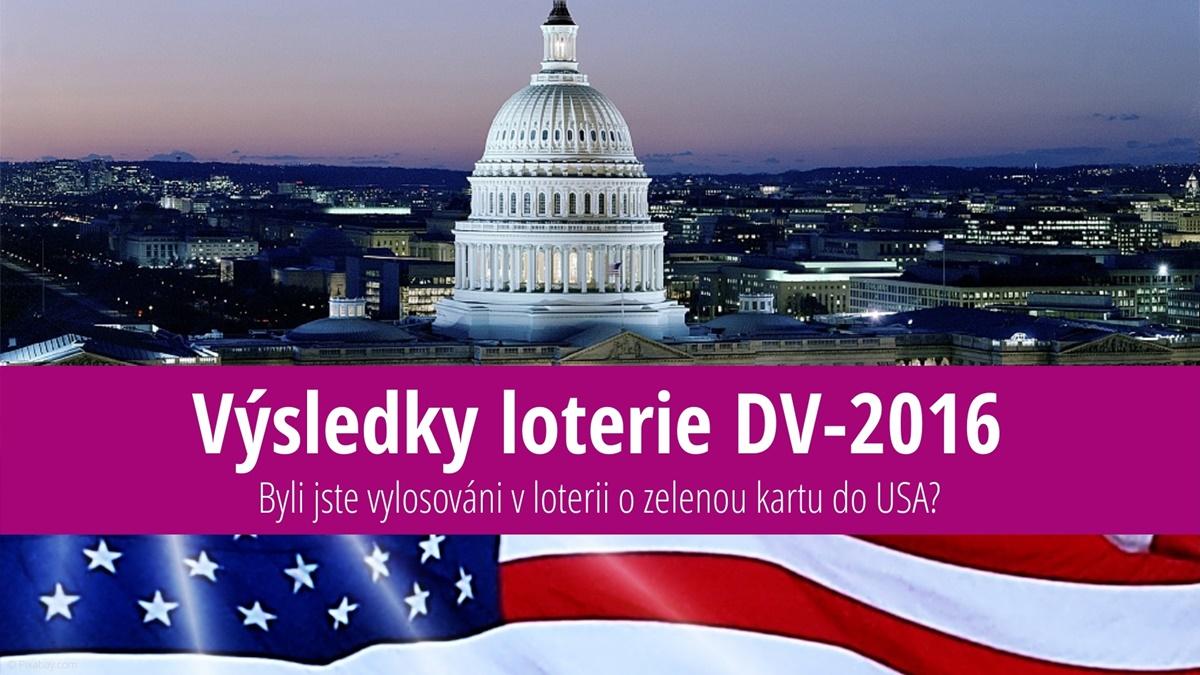 Výsledky loterie o zelenou kartu do USA 2016 (DV-2016)