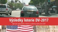 Výsledky loterie ozelenou kartu do USA 2017 (DV-2017)