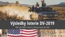 Výsledky loterie ozelenou kartu do USA 2019 (DV-2019)