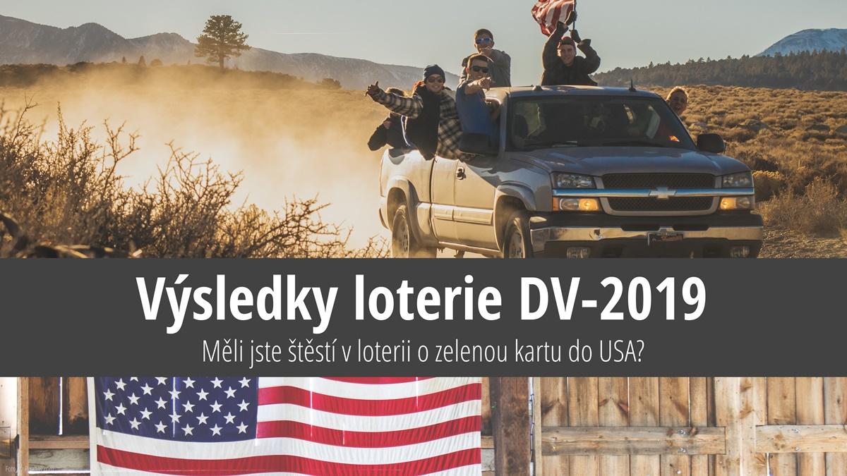 Výsledky loterie o zelenou kartu do USA 2019 (DV-2019)