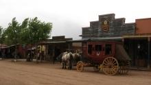 Westernové městečko Tombstone vArizoně