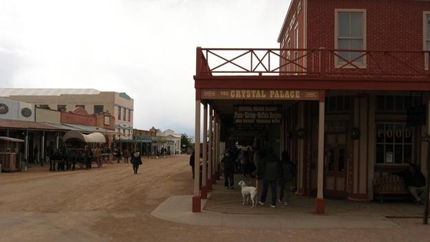 Westernové městečko Tombstone v Arizoně | © Ken Lund