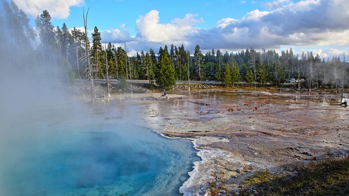 Národní park Yellowstone   © fortherock
