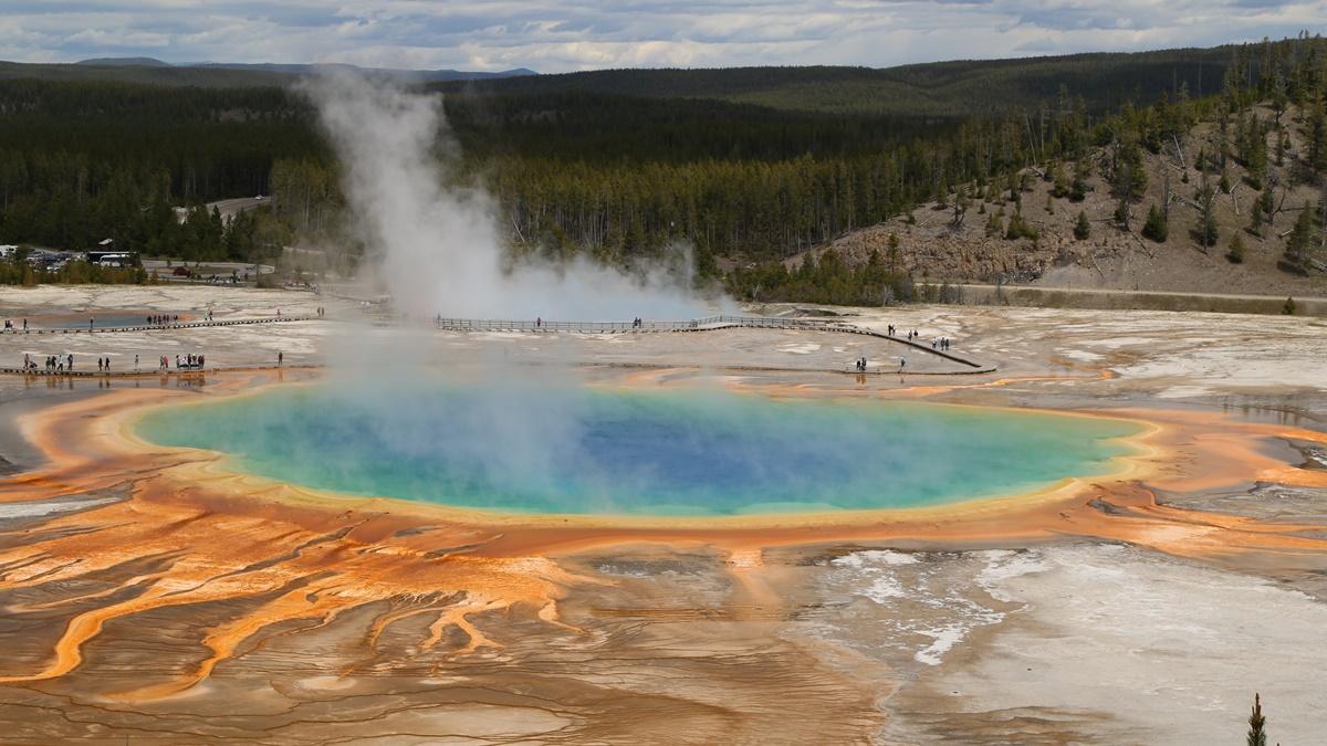 Yellowstonský národní park   © Pixabay.com