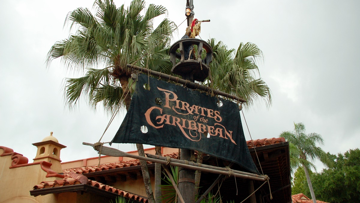 Atrakce Pirates of the Caribbean v zábavním parku Magic Kingdom | © Jeremy Simpson